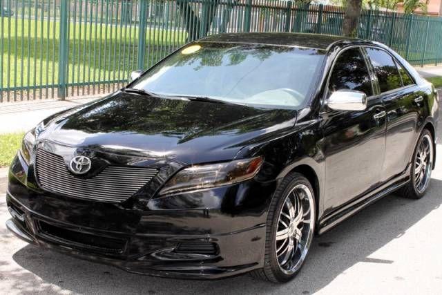 2009 Black Toyota Camry Se