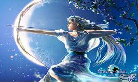 برج القوس الحياة معه مغامرة مستمرة وسط أجمل أجواء الرومانسية مواصفات برج القوس تختلف شخصية برج القوس كليا عن با Greek Mythology Gods Artemis Hunter Of Artemis