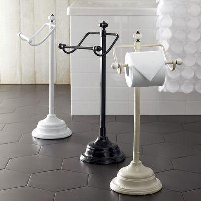 Floor Standing Toilet Paper Holder Shabby Chic Toilet Shabby Chic Bathroom Decor Toilet Paper Holder