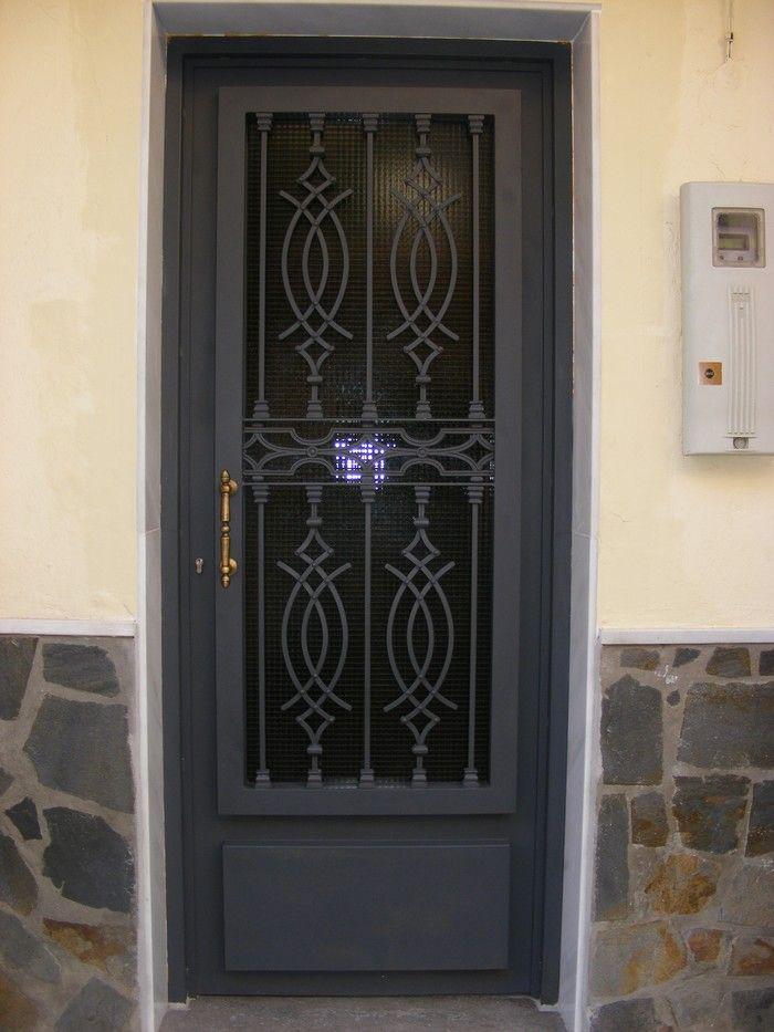 Puertas De Calle Hierro Puertas De Entrada De Metal Puertas De Acero Puertas De Fierro Modernas