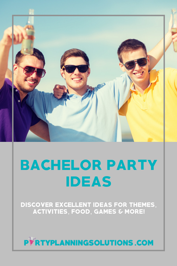 Bachelor Party Ideas Partyplanningsolutions Com Bachelor Party Bachelor Party Planning Wedding Event Planning