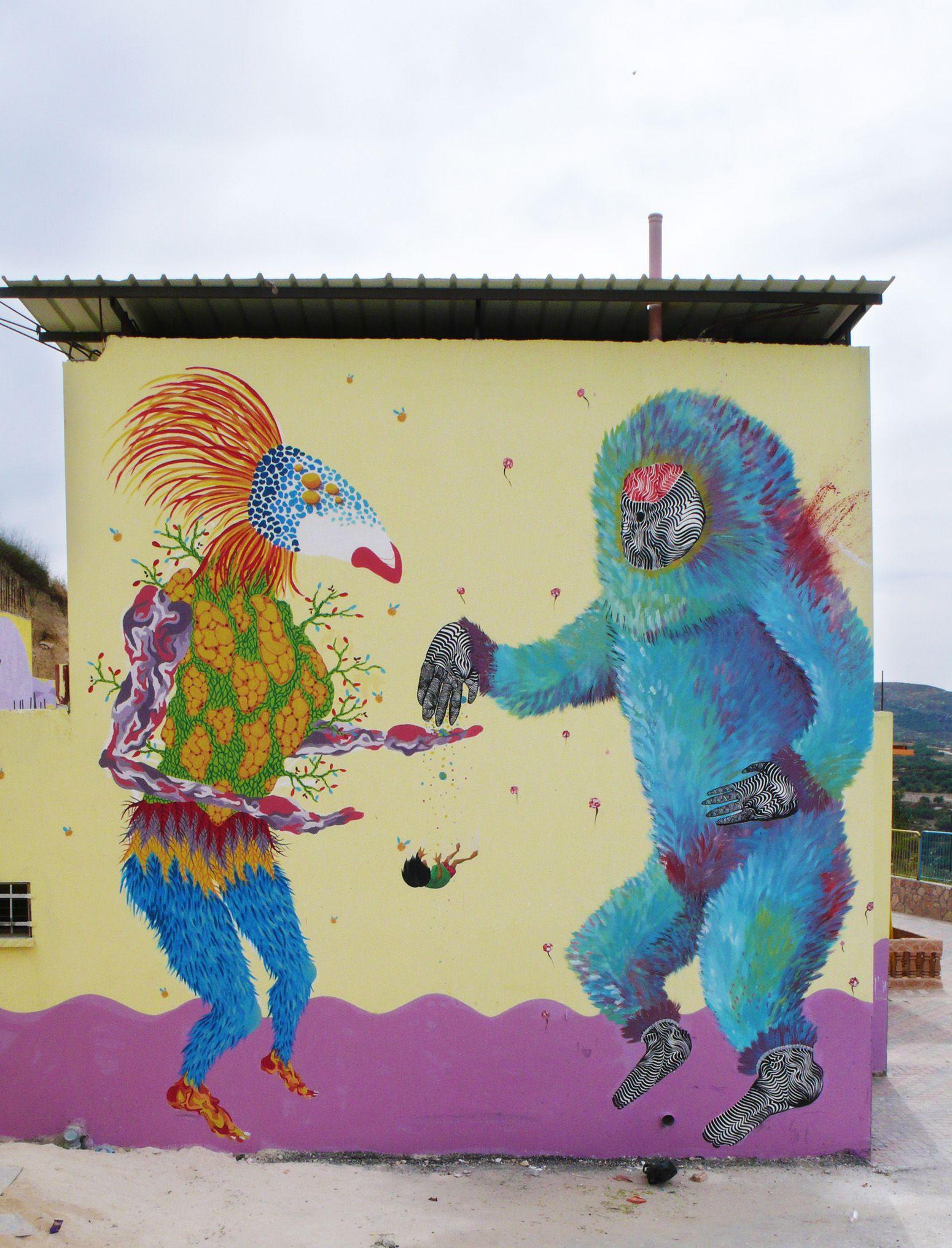 Gola Hundun | Street & Contemporary Art, Barcelona | murale, murale ...