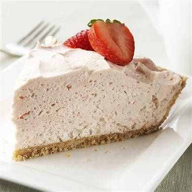 This light and fluffy cheesecake is a perfect dessert for the summertime. It can be prepared in less than 10 minutes and you don't have to turn on your oven.