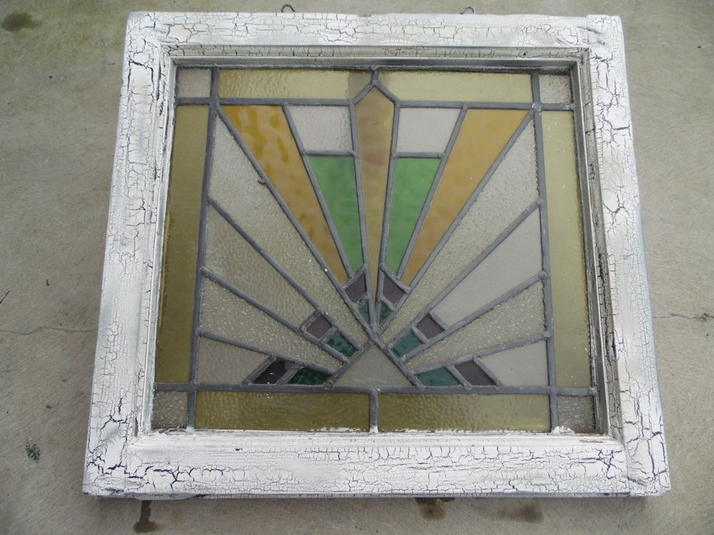 Beautiful vintage lead stained glass door panel window & Beautiful vintage lead stained glass door panel window | Glass ...