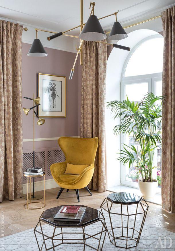 75 color interiors pinterest - Raumausstattung wohnzimmer ...