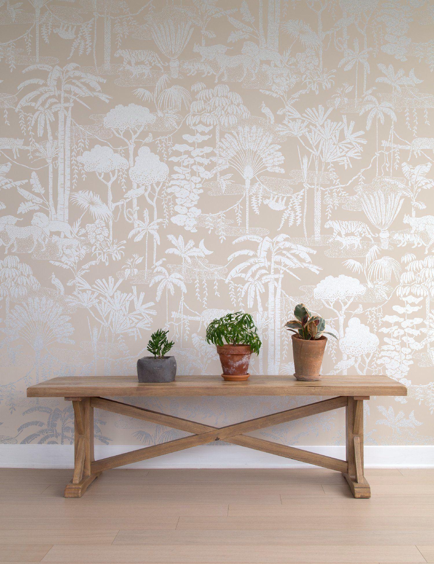 Jungle Dream Stardust Print wallpaper, Wallpaper, Vinyl