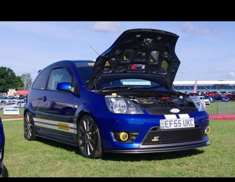 This Ford Fiesta St Mk6 Mountune Mr200 Is For Sale Ford Fiesta