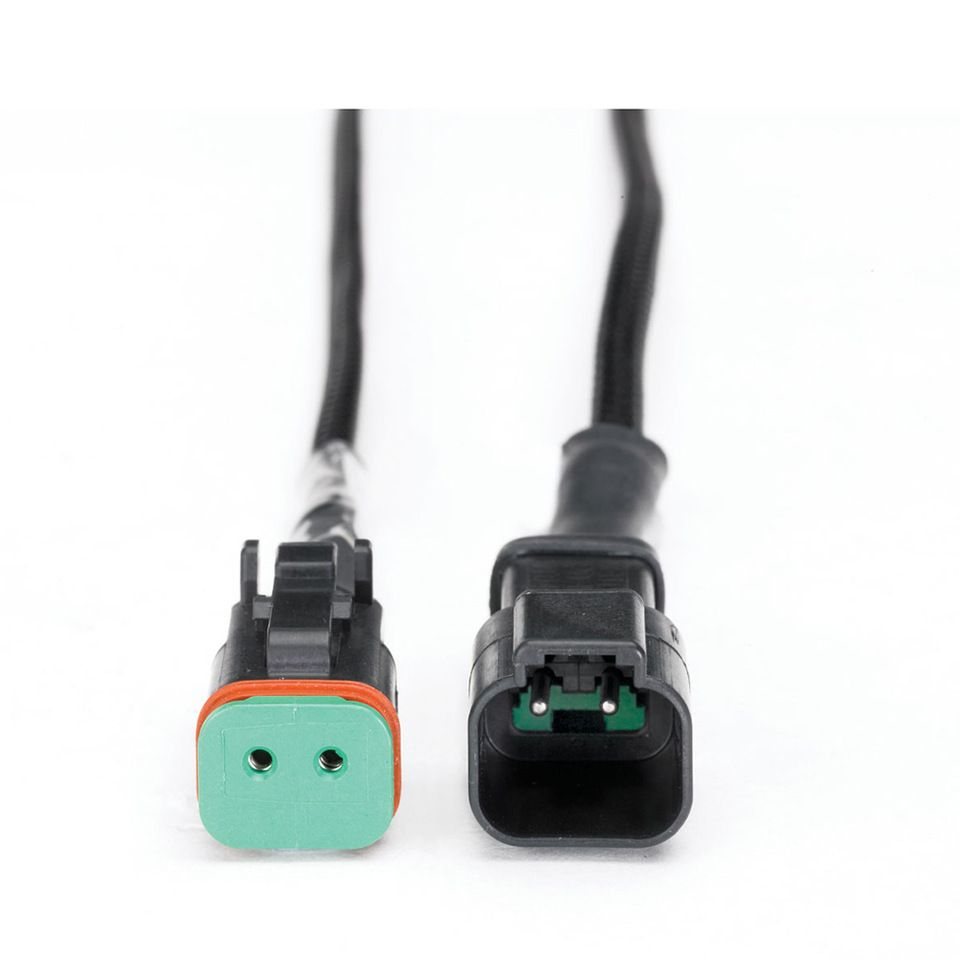 hight resolution of dt06 2s e004 2 pin male to female auto deutsch connector wiring harness