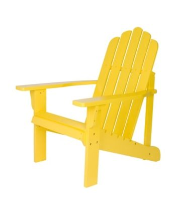 Marina Adirondack Chair Yellow Products In 2019 Recycled