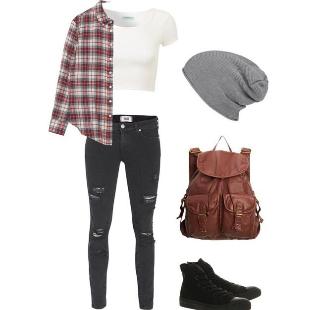 Edgy outfit.SOO ME!! I want EVERY SINGLE part of this