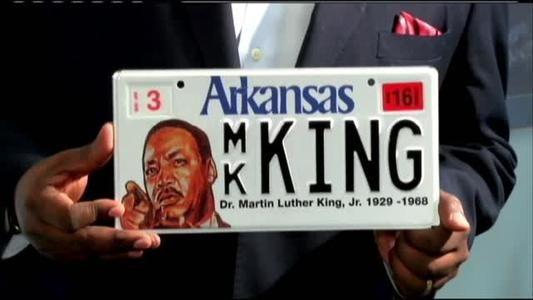 Arkansas Martin Luther King, Jr. Commission Unveils Commemorative License Plate - MyArkLaMiss.com