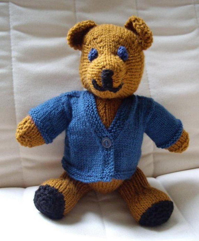 Teddy bear Knitting pattern by Ardree Designs | Knitting ...