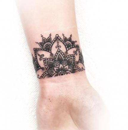 Tattoo Wrist Mandala Tatoo 30 Ideas For 2019 #tattoo