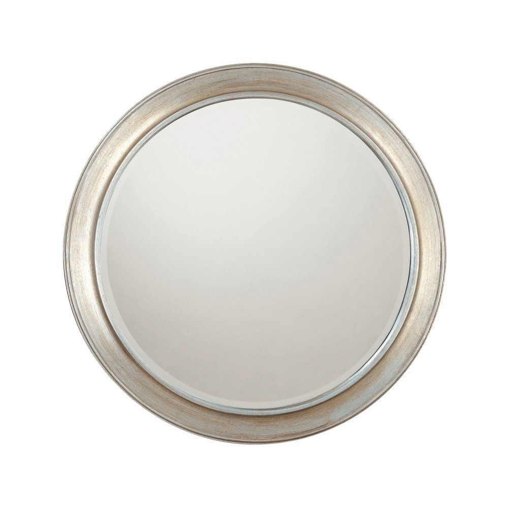 "Mirror, 34. 5"" H x 34.5"" W"