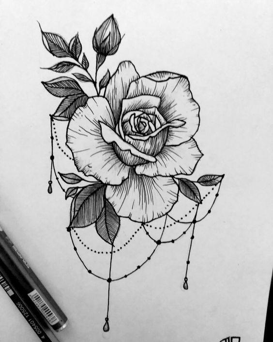 Классные картинки для срисовки тату и татуировки ...