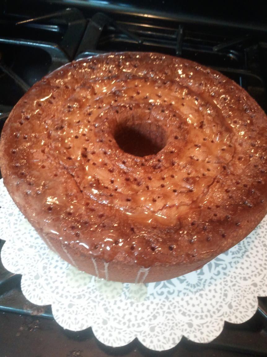 7-Up Pound Cake w/ Butter Glaze by Rose