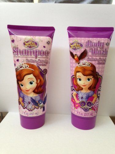 Introducing Disney Sophia the First Shampoo and Body Wash Set. Great Product and follow us to get more updates!