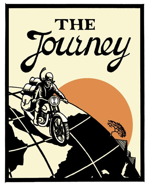 The Journey cover created for Walker Books