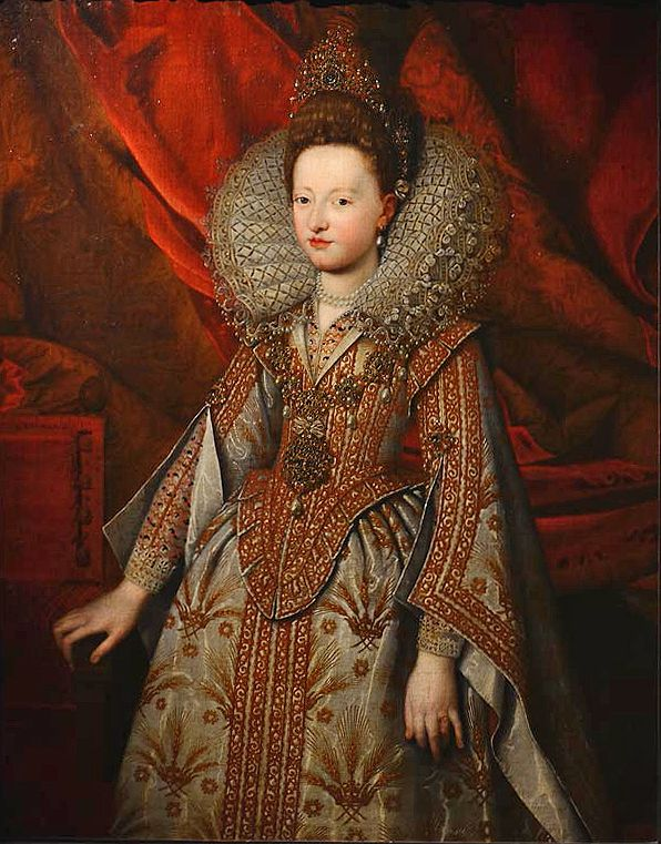 Isabella di Savoia d'Este by Frans Pourbus the Younger, 1606