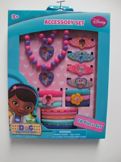 Amazoncom Doc Mcstuffins Hair and Jewelry Box Set Toys Games