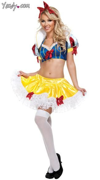 Halloween ideas · Sexy Snow White Costume ...  sc 1 st  Pinterest & Sexy Snow White Costume if I get fit enough.. maybe! | Halloween ...