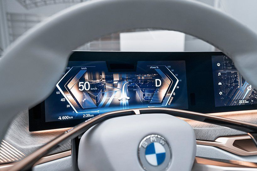 Pure Electric Bmw Concept I4 Shapes Sporty Yet Sustainable Gran Coupe In 2020 Bmw Concept Bmw Bmw Electric Car