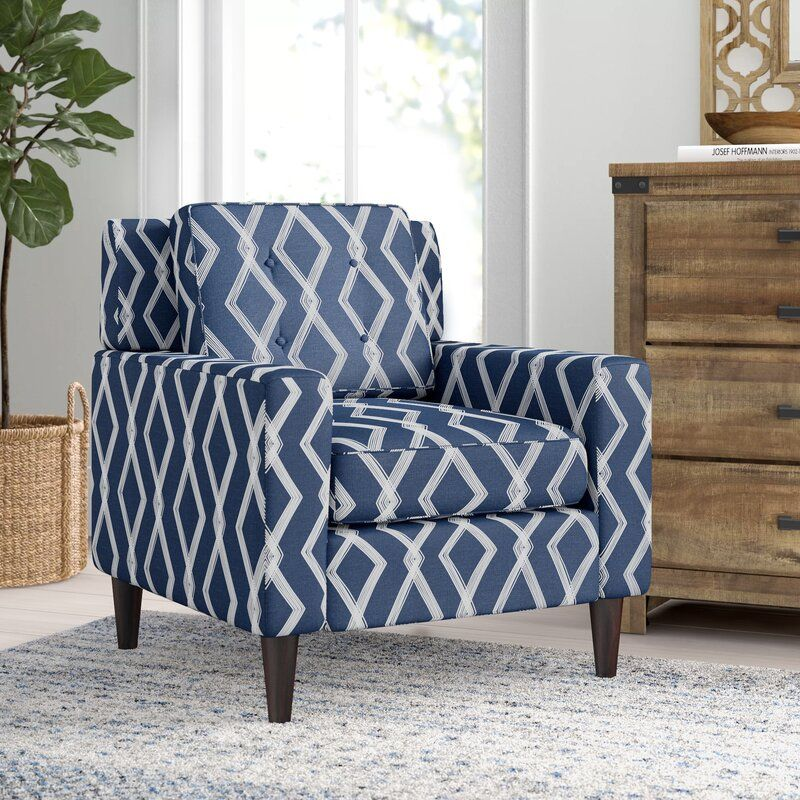 Greer Armchair Armchair Patterned Chair Furniture #patterned #living #room #chairs