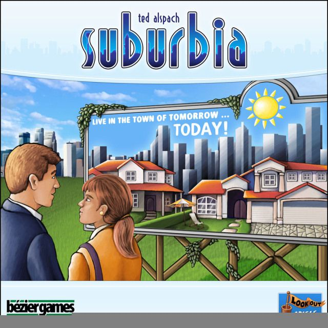 The Nerds' Table: Suburbia, by Ted Alspach
