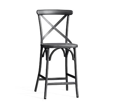 X Back Barstool | Counter Stool, Outdoor Dining Furniture And Bistro Chairs