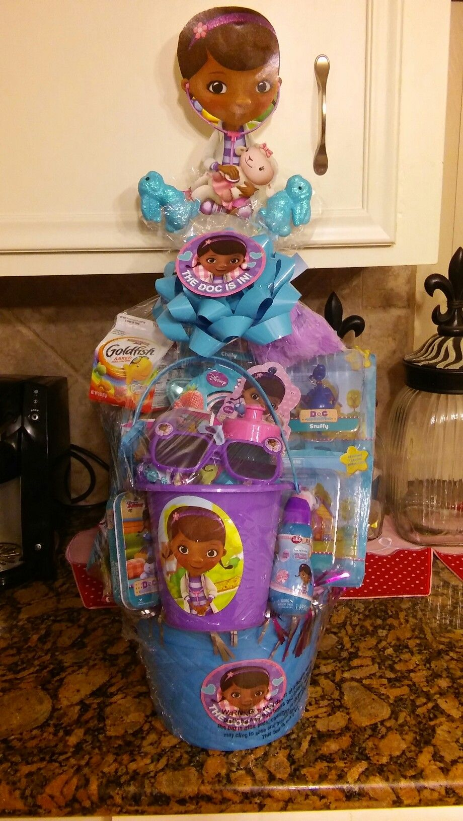 Give them something special with a personalized easter basket doc mcstuffins easter basket negle Images