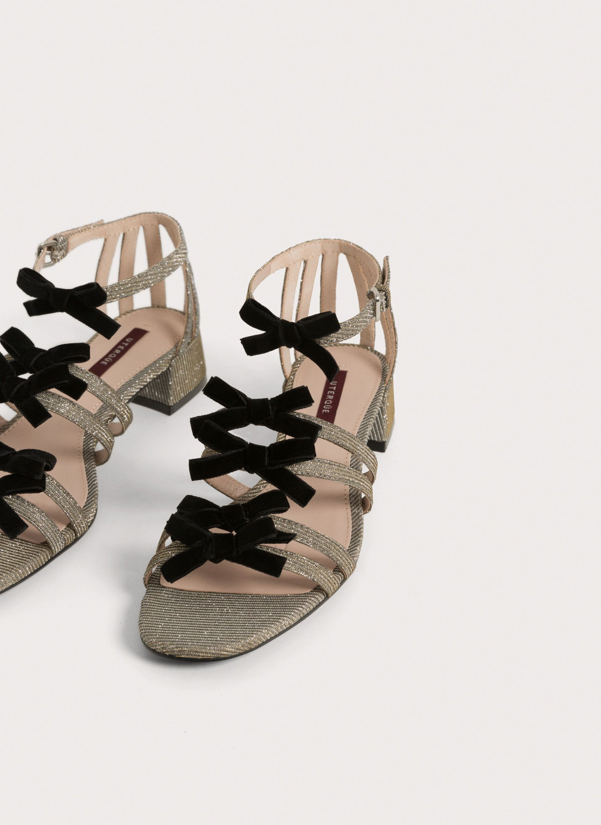Uterqüe United Kingdom Product Page - New in - View all - Sandals with bow - 95