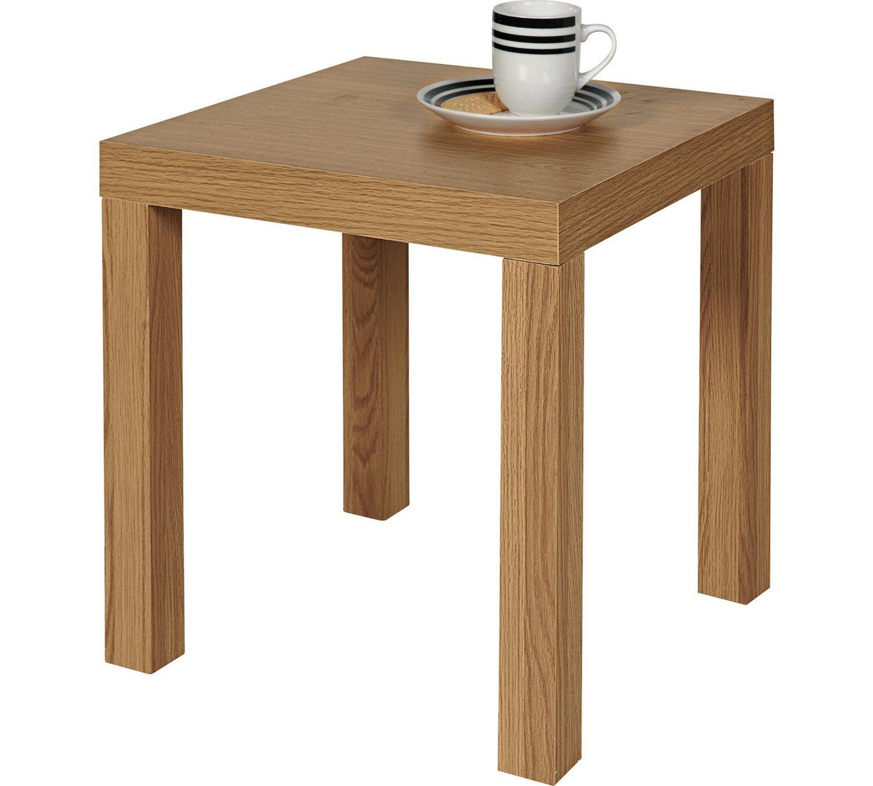 Argos Home End Table Oak Effect Coffee Tables Side And Nest