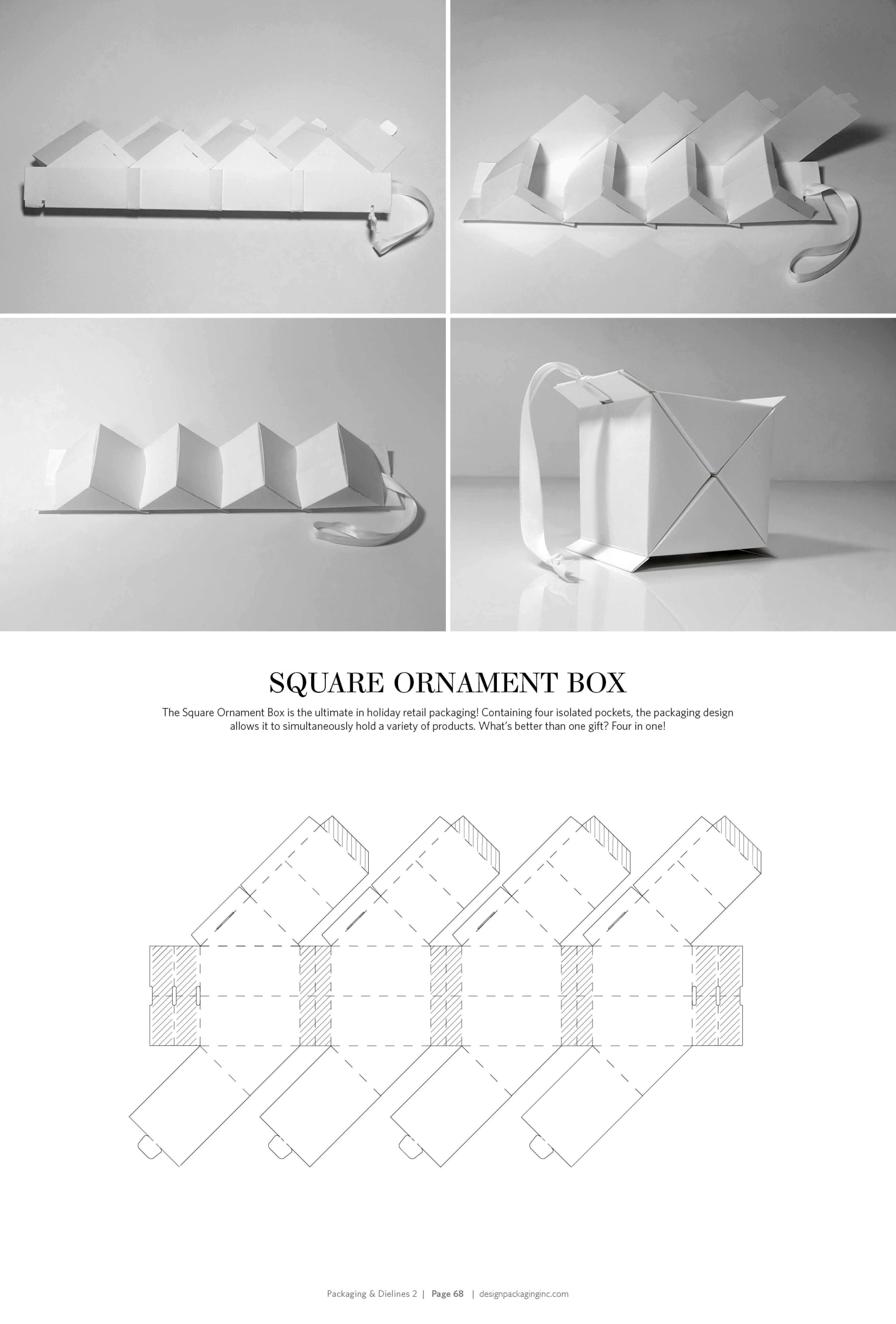 Individual ornament boxes - Packaging Dielines Ii The Designer S Book Of Packaging Dielines Ornament Boxpackage