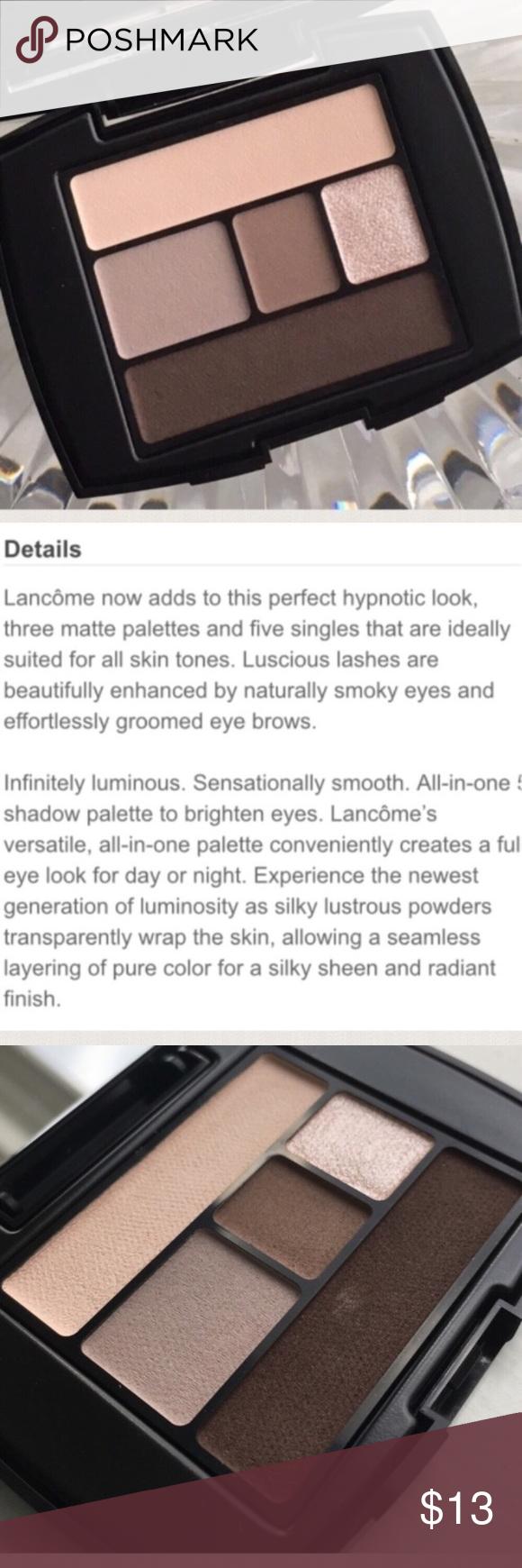 New Lancome Eyeshadow Palette In Beige Brulee Lancome Eyeshadow Eyeshadow Eyeshadow Palette