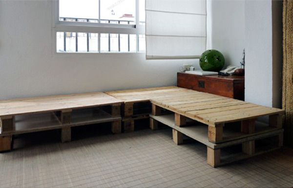 Superior Pallet Furniture | DIY: Shipping Pallet Couch | Furniture And Design