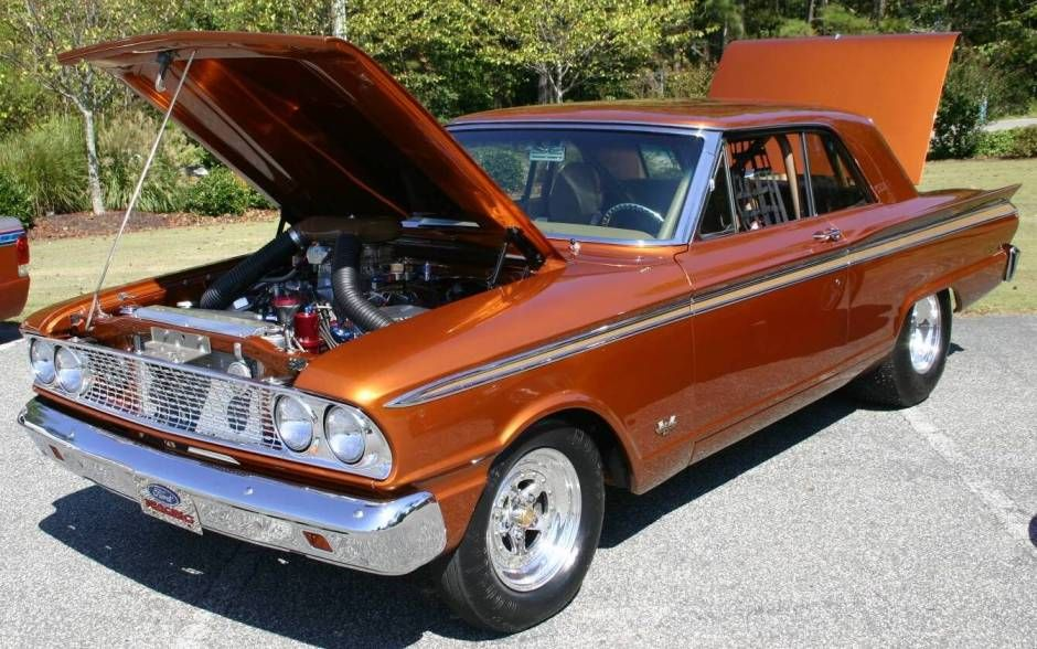 Classic Ford Cars And Trucks 1963 Ford Fairlane Drag Race Car
