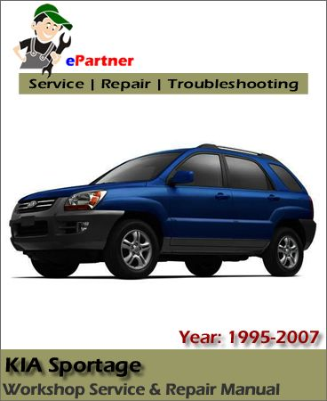 kia sportage service repair manual 1995 2007 kia service manual rh pinterest com