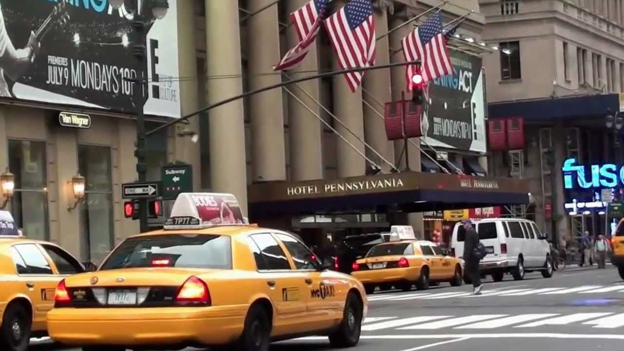 New York Manhattan Hotel Pennsylvania Penn Station Madison