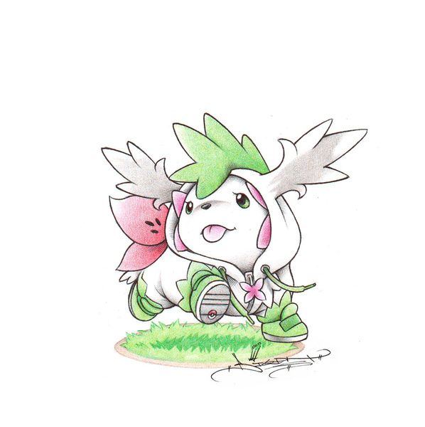 shaymin one of the cutest pokemon ever pokemon in 2018 pinterest