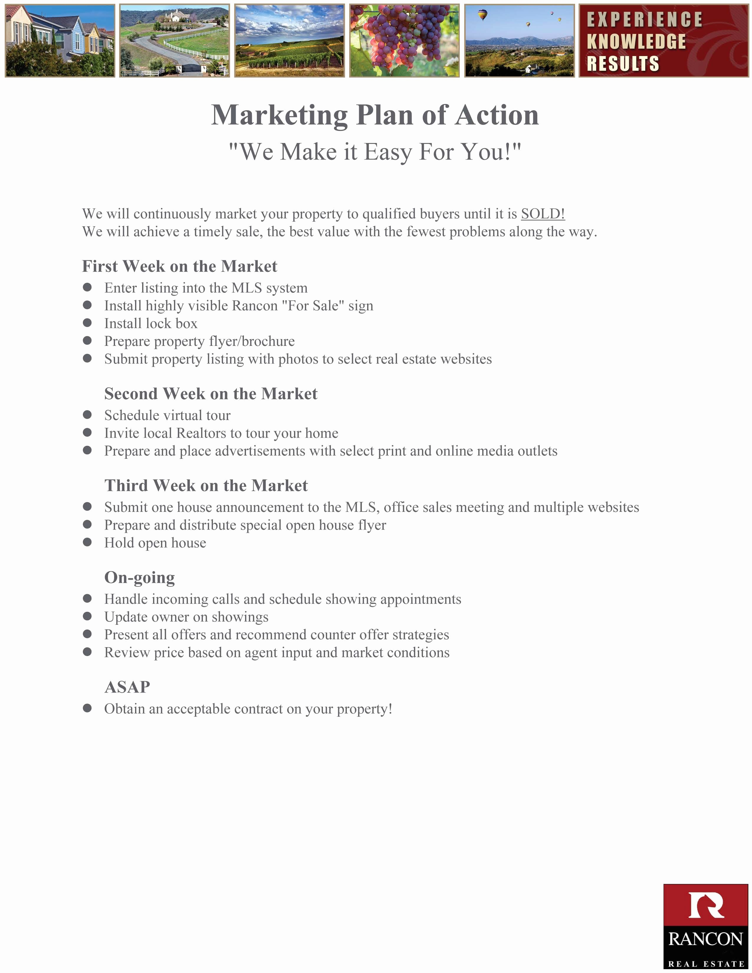 real estate agent marketing plan fresh marketing httpscstuio727a4f