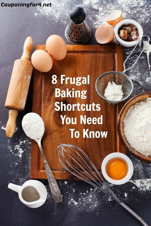 8 Frugal Baking Shortcuts You Need To Know - Baking is a fantastic hobby, but it can be expensive. Let these tips help you find some kitchen alternatives that will help you save money!