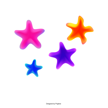 Colorful Flat Geometry Color Stars Color Flat Geometric Png And Vector With Transparent Background For Free Download Colour Star Paint Splash Background Free Graphic Design