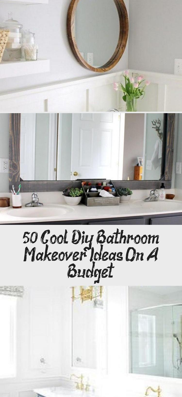 50 Cool Diy Bathroom Makeover Ideas On A Budget Bathroom Bathroommakeover Ba Bathroom Bathroommake In 2020 Diy Bathroom Makeover Bathroom Makeover Diy Bathroom