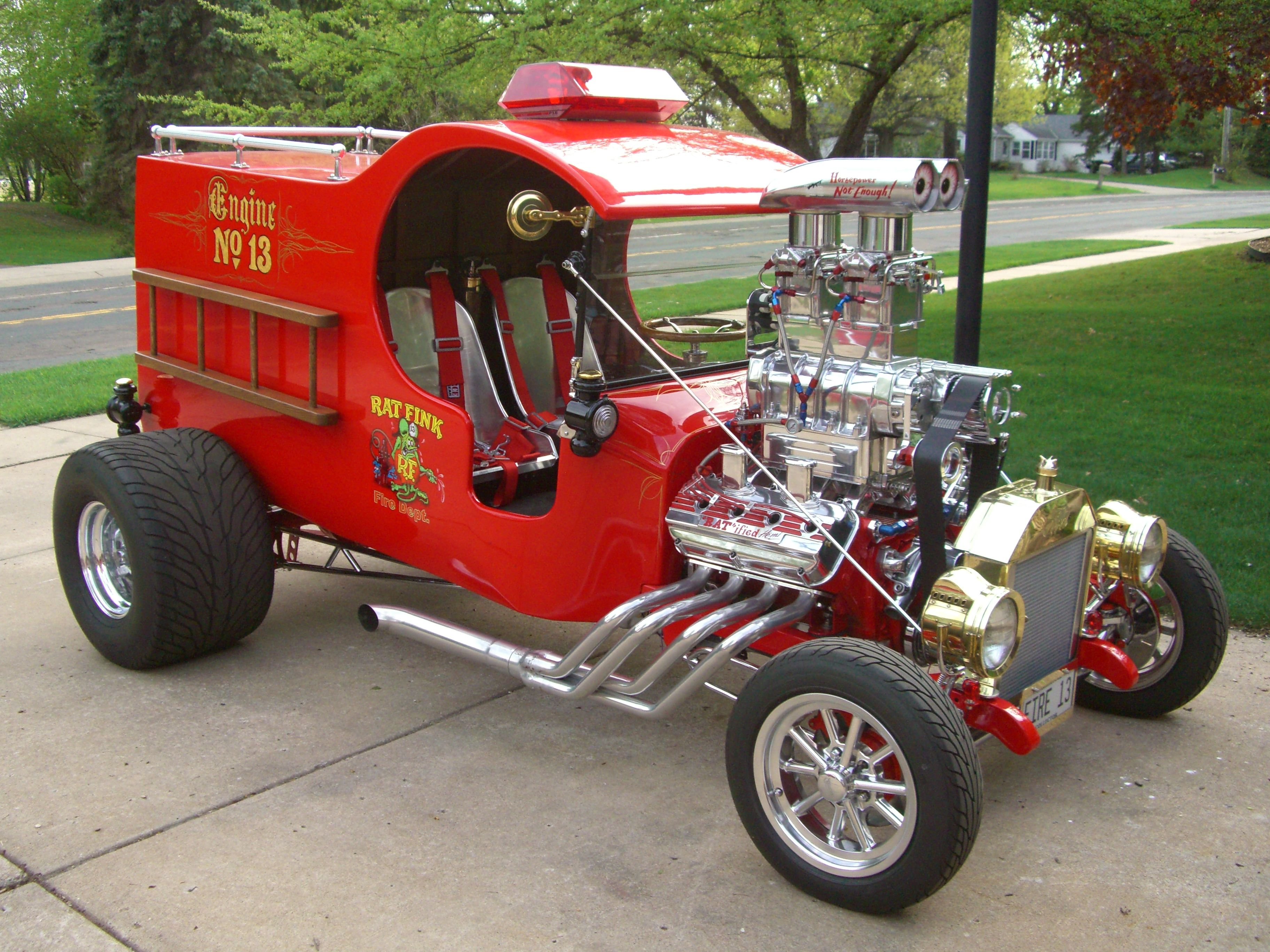 Drag Slot Car Roadster Parts