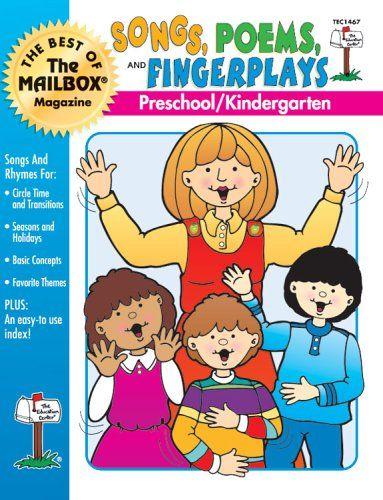 Songs, Poems, and Fingerplays (Preschool Kindergarten) by…