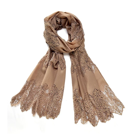 Lace Scarf Mushroom in 2020 Lace scarf, Scarf, Lace