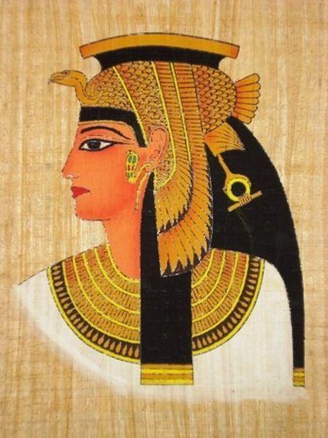 pintura egipcia cleopatra - Pesquisa Google