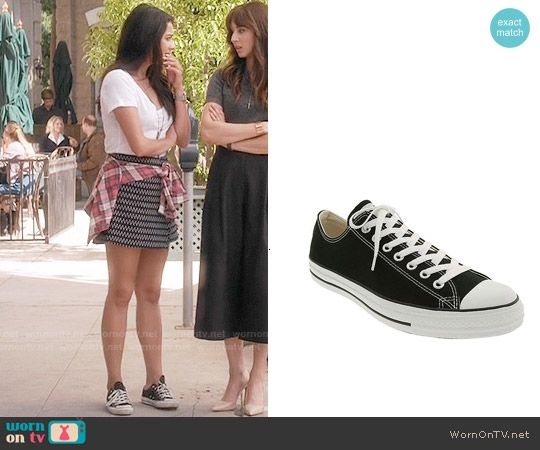 The converse of Emily (Shay Mitchell) in Pretty Little Liars