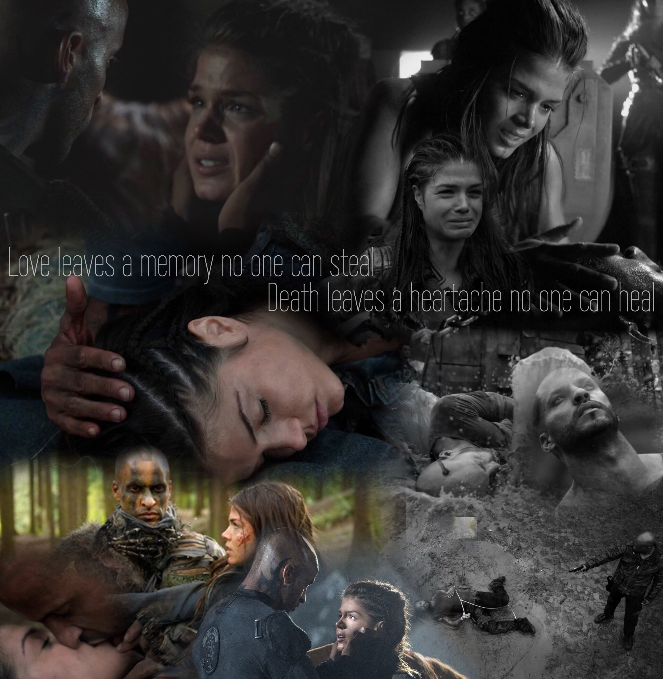 Pin By Ellie On The 100 The 100 The 100 Cast Lincoln Octavia