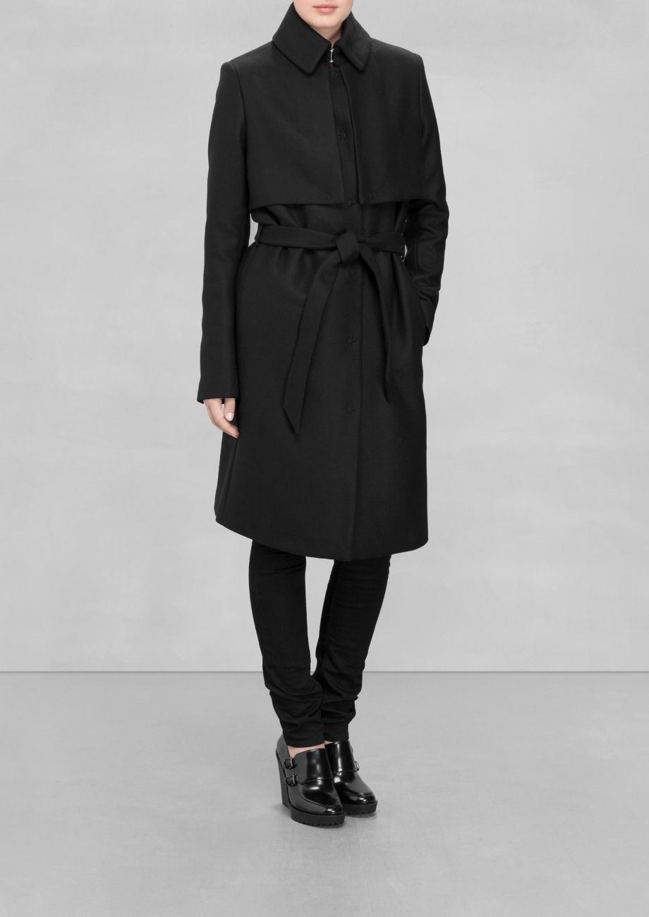 7158fda94 & Other Stories | Wool Trench Coat. A long wool-blend trench coat ...